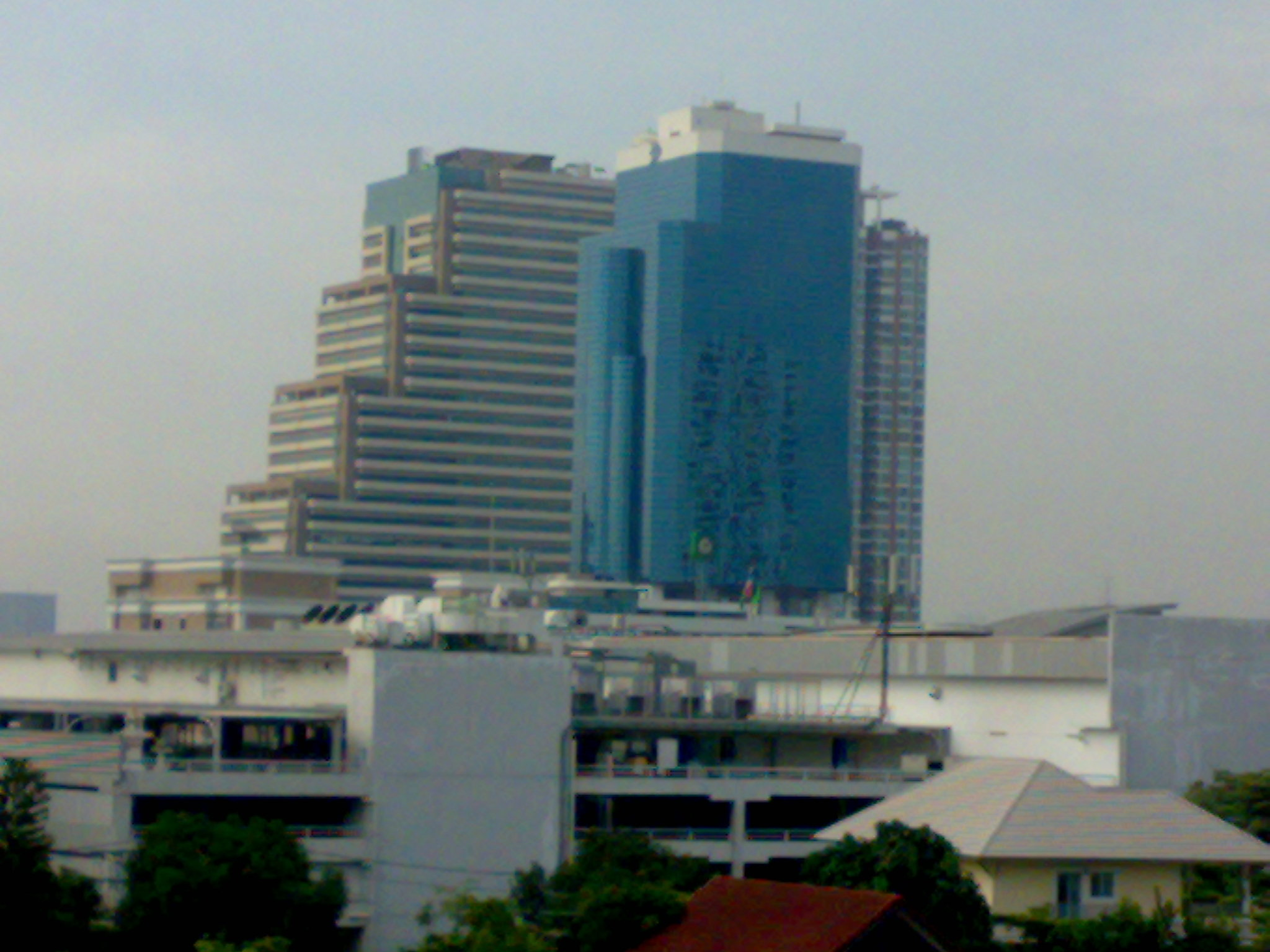 Bangkok Business Center: The 15th floor of the blue building